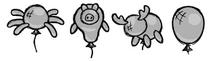 Rodzaje baloników