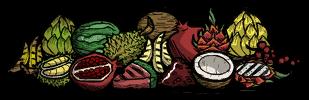 Wszystkie owoce