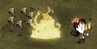Podpalone gniazdo