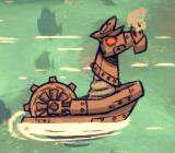 Morski mechaniczny skoczek przed atakiem (DSS)