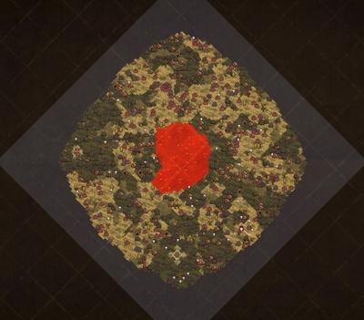 Jaskinie wulkaniczne mapa (DSS)