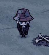 Wilson w wężoskórzym kapeluszu