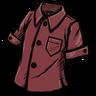 Buttoned Shirt (Wormgut Red)