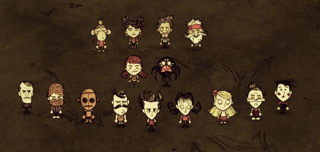 Wszystkie postacie