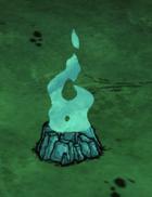 Endotermiczne ognisko w grze