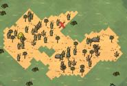 Miejsce skarbu na mapie (DSS)