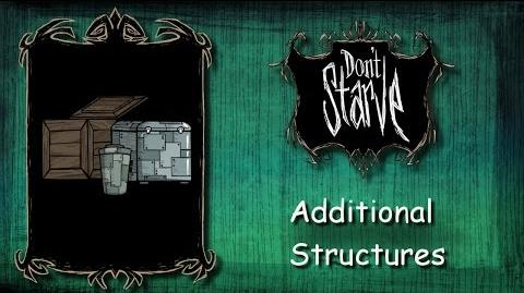 Don't Starve Mod - Additional Structures v. 1.1