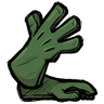 Long Gloves Forest Guardian Green