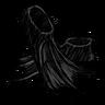 Scribble Black Flippers