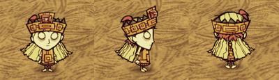 Wendy i tulecytowy strój