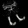 Shorts (Scribble Black)