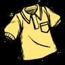Collared Shirt Neighborly Yellow