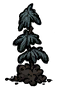 Sadzonka guzowatego drzewa (DST)