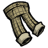 Checkered Trousers (Dry Grass Tan)
