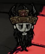 Wilson w Tulecytowej koronie z dużą brodą