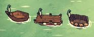 Latarnie morskie i łodzie