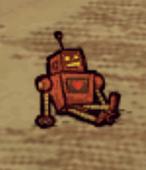 Leżący robot w grze