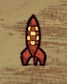 Mały statek kosmiczny w grze