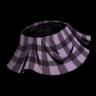 Plaid Skirt (Peripeteia Purple)