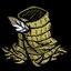 Trzcinowa tunika z piórkiem (Kuźnia)