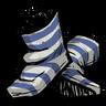 Lightning Goat Blue Swim Socks