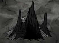 Spilagmit w jaskini