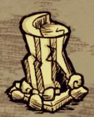 Broken Marble Pillar