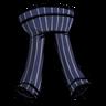 Crow Blue Pinstripe Pants