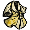 Spiffy Silk Robe Downright Neighborly Yellow