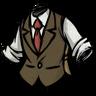 Classy Tweed Waistcoat Insufficent Chocolate Brown