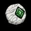 Stara zielona księżycowa soczewka (DST)