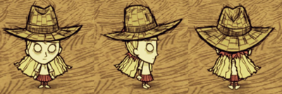 Wendy i słomiany kapelusz