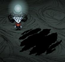 Grota bazytoperzy w jaskini