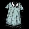 Distinguished Nightdress Anthropomorphic Feline Blue