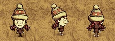 Wigfrid Zimowy lekki strój