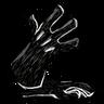 Long Gloves (Scribble Black)