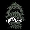 Elegant Woodguard Head