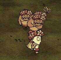 Wendy i trzy świnki z wiankami