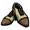 Werebeaver Brown Spectator Shoes