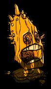 Koszmarny pomnik głowy