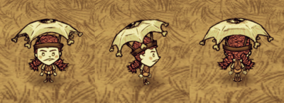 Wigfrid Oczna parasolka