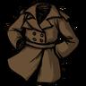 Spiffy Trench Coat Werebeaver Brown