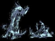 Księżycowe rzeźby psów gończych (DST)