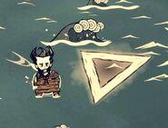 Wilson obok trójkąta bermudzkiego