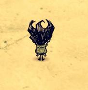 Wilson ze słomianym plecakiem