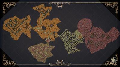 Ruiny mapa
