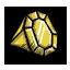 Żółty kryształ
