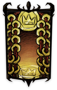 Classy Golden Belt Portrait