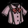 Classy Suspension Shirt Pigman Pink