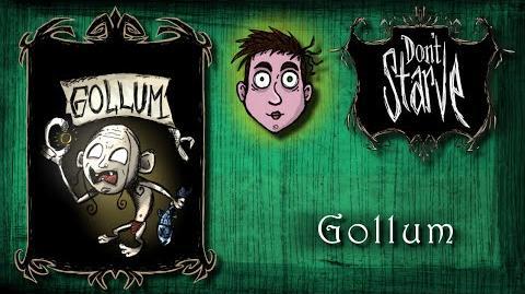 Don't Starve - Mod Gollum